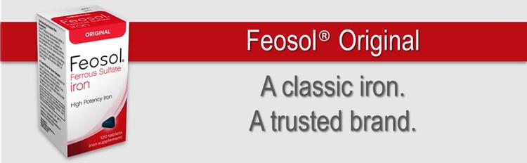 feosol iron supplement low iron ferrous sulfate
