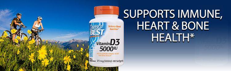 Vitamin D3 5000 immune heart bone teeth health immune system