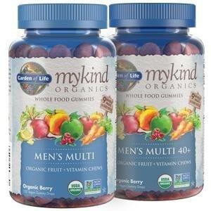 men's multi organic fruit vitamin chews