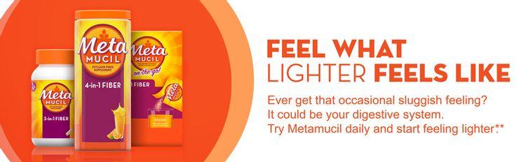 lighter, digestive system, fiber, Metamucil