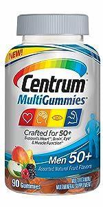 Centrum MultiGummies Men 50+