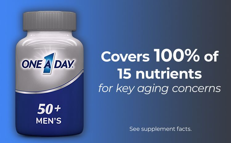men's 50+ one a day