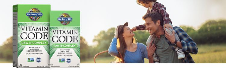 garden of life vitamin code raw b complex