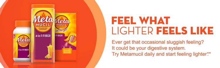 metamucil, fiber, lighter