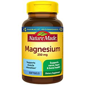 Nature Made Magnesium 250 mg Softgels