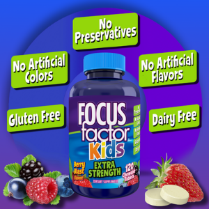 Focus Factor Kids Extra Strength