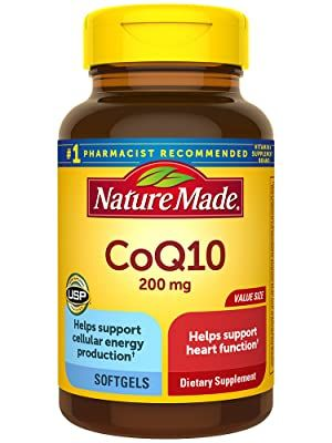 Nature Made CoQ10 200 mg Softgels for Heart Health†