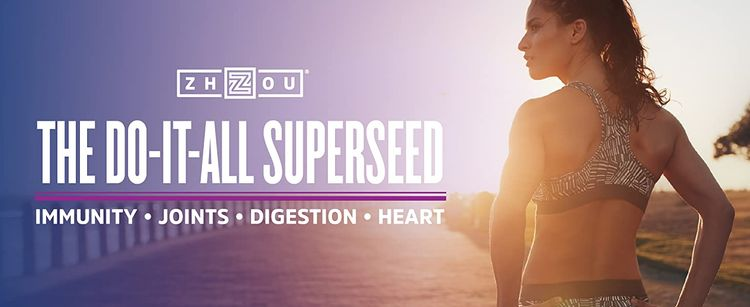 Black Seed Oil by Zhou the do-it-all superseed for immunity, digestion, joints, and heart health.
