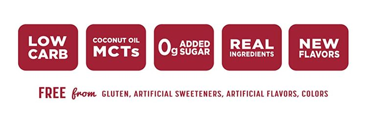 low carb real ingredients new flavors keto