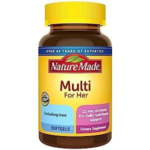 Nature Made Women's Multivitamin Softgels