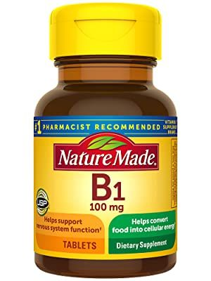 Nature Made B1 100 mg Tablets