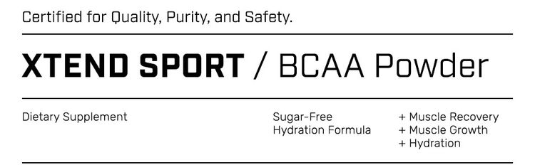 Xtend Sport BCAA & Hydration Powder