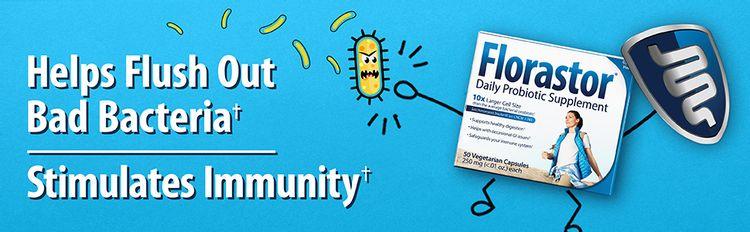 Florastor Daily Probiotic Supplement