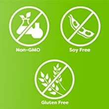 non-GMO, gluten free, soy free