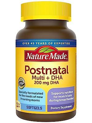 Nature Made Postnatal + DHA Softgels