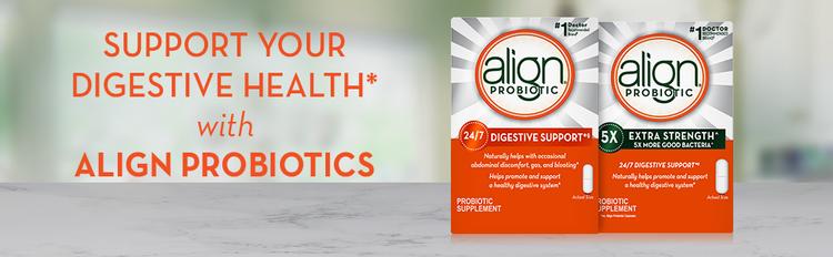 Align, Probiotics, digestive health, extra strength