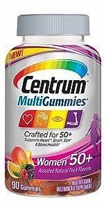 Centrum MultiGummies Women 50+
