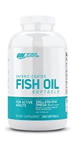 Fish Oil Softgels Optimum Nutrition