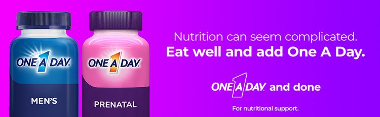 one a day prenatal nutrition