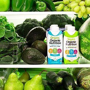 clean, real, organic ingredients