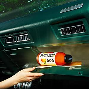 Glovebox energy drink