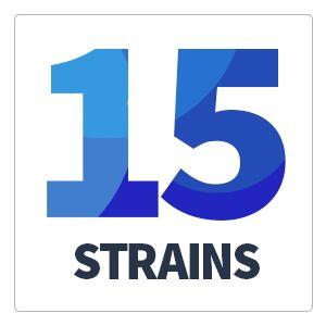 16 probiotic strains