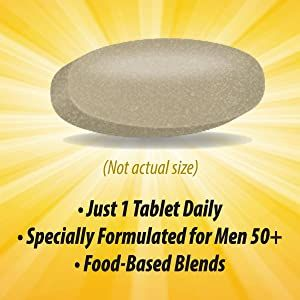 Specially formulated for men 50+