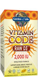 Vitamin Code RAW D3 2,000 IU