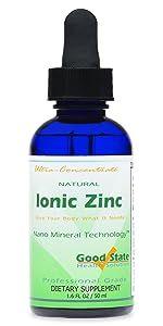 ionic zinc, liquid zinc, zinc supplement