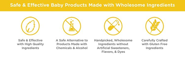 Zarbees products are safe and effective for babies with wholesome ingredients.