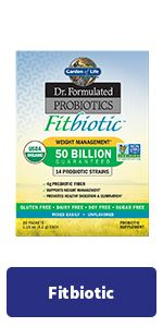 fitbiotic weight management probiotics
