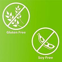 gluten free, soy free