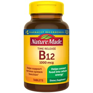 Nature Made B12 1000 mcg Time Relase Tablets