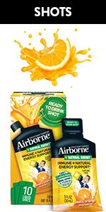 Airborne Vitamin C Natural Energy Shots