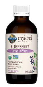 elderberry syrup mykind organics