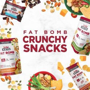 fat bomb crunchy snacks