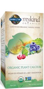 mykind Organics Organic Plant Calcium