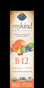 garden of life mykind organics b12 spray