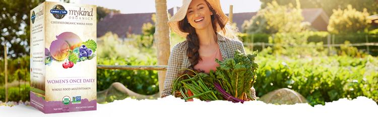 Garden of Life mykind Organics Women's Once Daily Multi