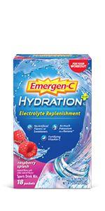 Emergen-C, EmergenC, Hydration, Electrolytes, Hydrate, Sports Drink