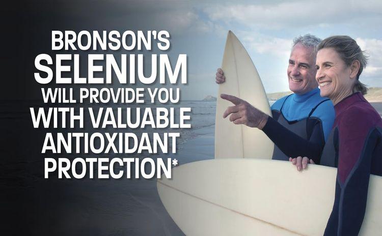 Selenium antioxidant protection