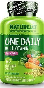 NATURELO One Daily Multivitamin for Women