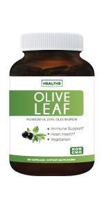 Black Seed Oil pairs well with Olive Leaf Extract